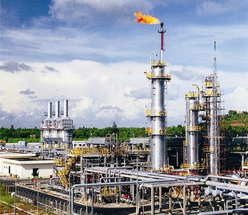 Pve Dinh Co Gas Processing Plant